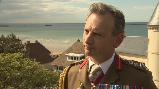 Chief Of The General Staff General Sir Mark Carleton-Smith