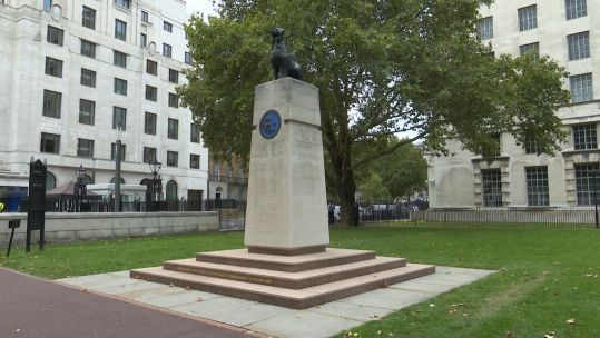 Cover image: The Chindit Memorial in Victoria Embankment Gardens, London.