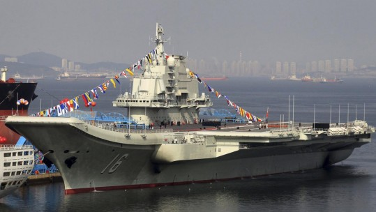 PLAN Liaoning aircraft carrier