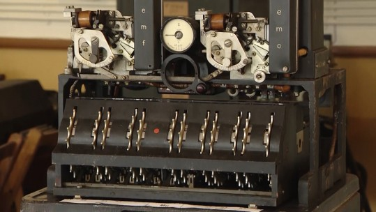Code Breaking Equipment That Helped Win WW2 Goes On Display