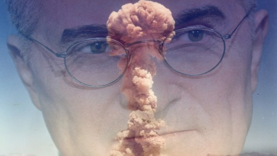 Harry S. Truman & mushroom cloud