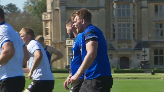 Corporal Josh McNally training with Bath Rugby 180919 CREDIT BFBS.jpg