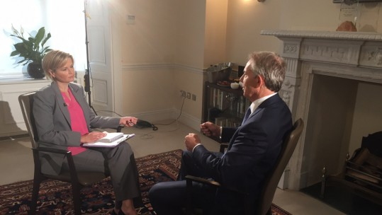 Forces TV Interviews Tony Blair