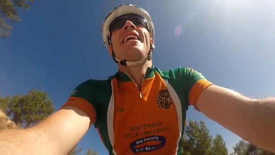 Military Athletes Take On Cyprus Cycle Challenge