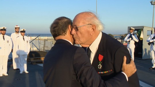 D-Day Veteran Awarded France's Highest Military Medal
