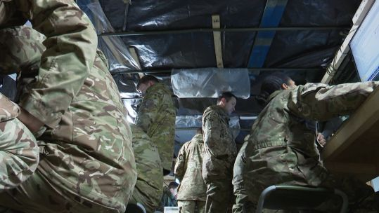 DESERT RATS BACK IN GERMANY on exercise Credit BFBS 2 200120