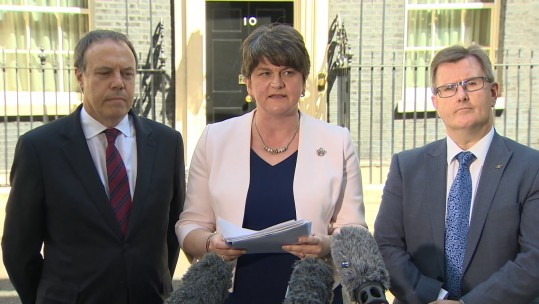 DUP Announce Conservative Deal