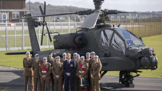 Prince Harry At Middle Wallop