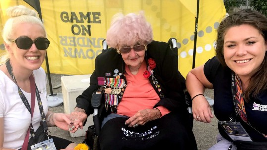 Daphne Dunne Prince Harry's Number One Fan Invictus Games Sydney Amy Casey Jade Callaway Forces Radio BFBS