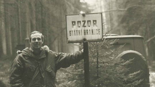 David Butler BEM at the Polish Border during the Cold War