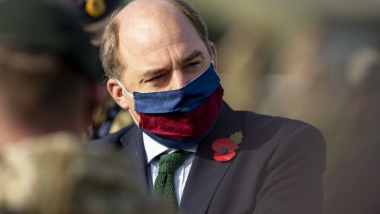 Cover image: Defence Secretary Ben Wallace at Salisbury Plain (Picture: MOD).