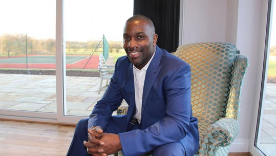 Olympian and motivational speaker Derek Redmond