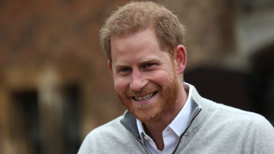 Duke of Sussex speaking at Windsor Castle