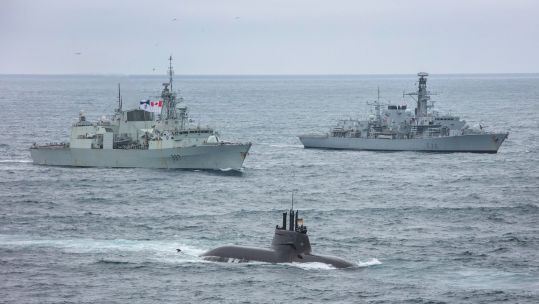 Cover image: NATO's Dynamic Mongoose exercise in 2020 (Picture: Royal Navy).