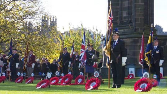 Edinburgh's Garden of Remembrance Opening