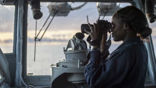 lookout bridge USS Boxer