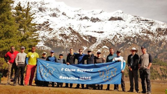Exercise Northern Fox: Soldiers Trek The Himalayas During Trip Of A Lifetime