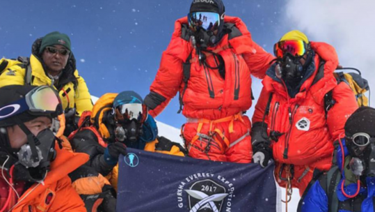 Gurkha Everest Expedition Reach The Summit