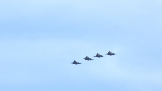 F-35B jets arrive at Marham