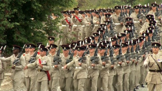 2 YORKS Mark Formation Day in Cyprus