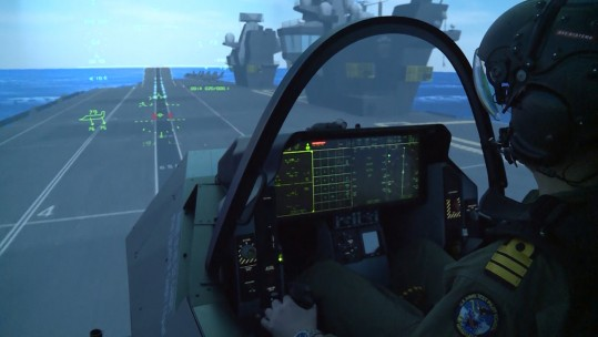 F-35 simulator trials