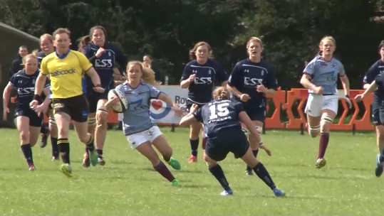 RAF Women beat Royal Navy in Rugby