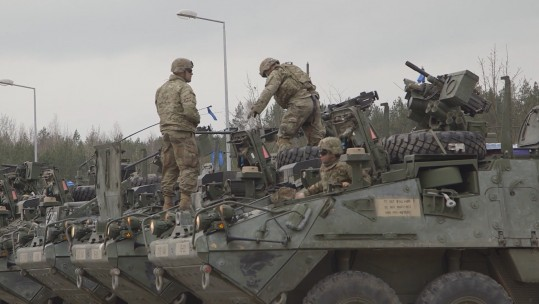 Troops in Poland