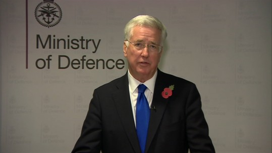 michael fallon resignation statement