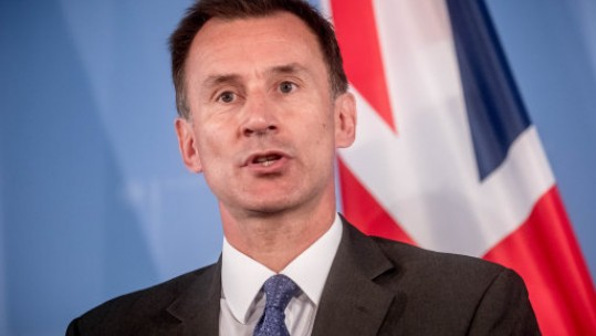 Foreign Secretary Jeremy Hunt (Picture: PA).
