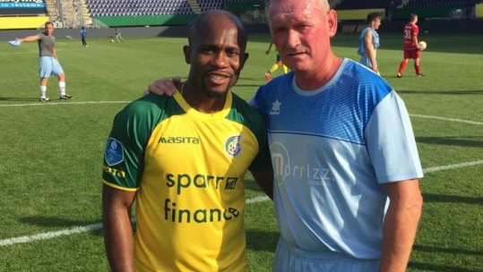 Fortuna Sittard hosted the RAF in a celebratory fixture.