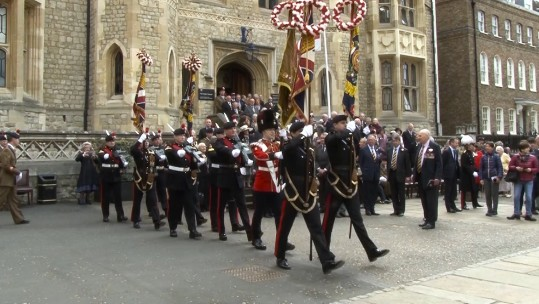 Royal Regiment of Fusiliers 50 years