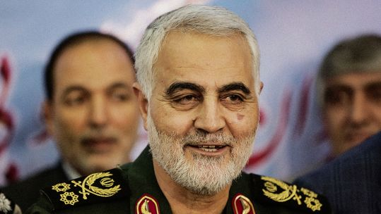 Cover Image: General Qassem Soleimani in July 2018 (Picture: PA).