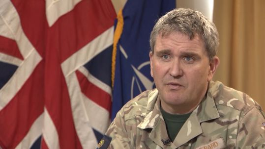General Sir James Everard spoke exclusively to Forces News.