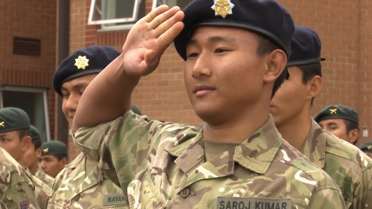 Gurkha recruits unit sorting
