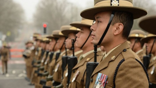 British Army Gurkhas