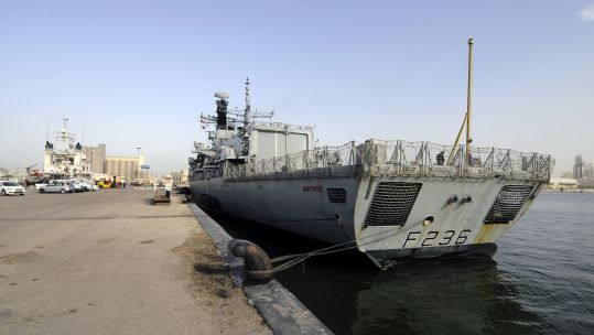 HMS Montrose arrives in Bahrain