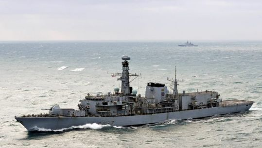 Library image of Type 23 frigate HMS Westminster (Picture: MOD).