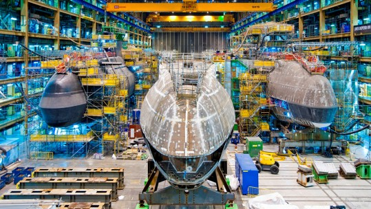 BAE Systems Awarded £1.3 Billion Contract For HMS Anson