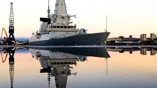 Life at Sea for HMS Defender
