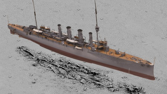 What Lies Beneath? WW1 Sea Wrecks