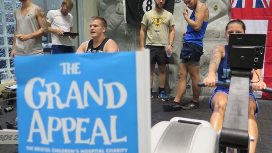 HMS Middleton Crew Tackle Epic 24-Hour Charity Rowathon