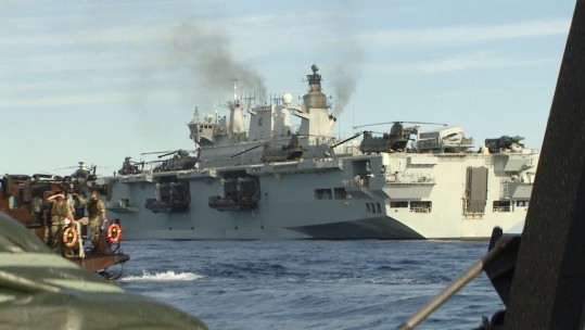 Sailing On The HMS Ocean