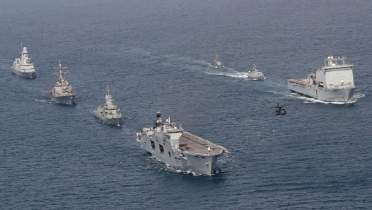 Exercise Unified Trident The Gulf