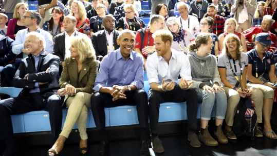 Prince Harry And Obama's Invictus Bromance