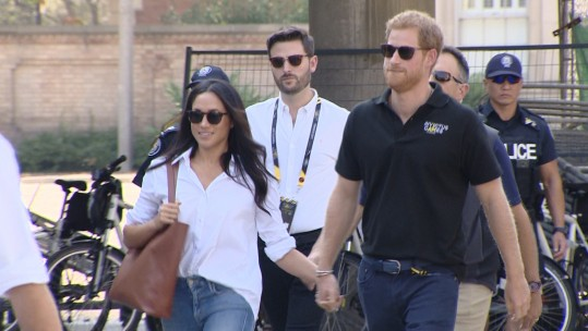 Prince Harry & Meghan Markle Invictus Games 2017