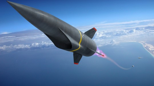 High Speed Strike Weapon HCSW CREDIT Lockheed Martin