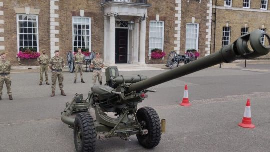 Honourable Artillery Company Begins training after lockdown 21072020 CREDIT MOD