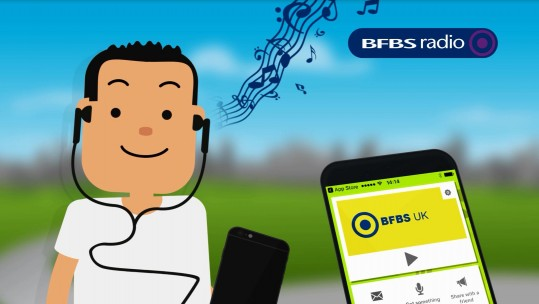 How To Listen To Forces Radio BFBS On The Go