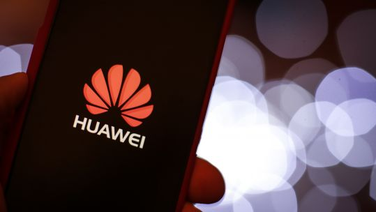 Huawei mobile device screen 300119 CREDIT PA IMAGES.jpg