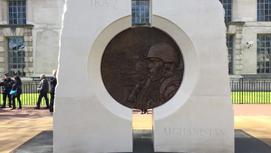 Iraq Afghanistan Memorial Unveiled